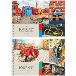 Детская литература - Альбом д/рис.  40л  .гребень  ArtSpace  Путешествия.Collage of travel.  (10/20), 0
