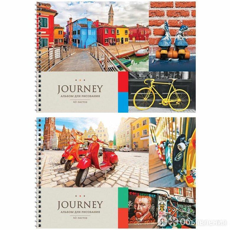 Альбом д/рис.  40л  .гребень  ArtSpace  Путешествия.Collage of travel.  (10/20) по цене 77₽ - Канцелярские принадлежности, фото 0