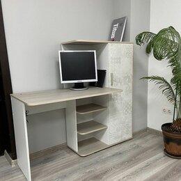 Компьютерные и письменные столы - Стол компьютерный со шкафом Паскаль 💥 0719💥, 0