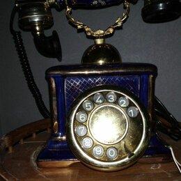 Проводные телефоны - Ретро телефон Фарфор, 0