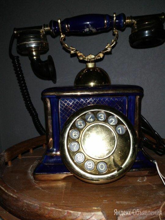 Ретро телефон Фарфор по цене 5000₽ - Проводные телефоны, фото 0