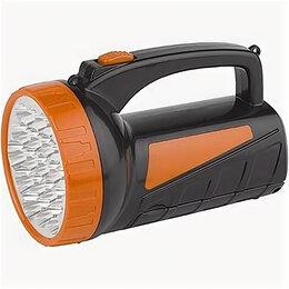 Фонари - ТРОФИ фонарь-прожектор TSP19 (акк. 4V 2Ah) 19св/д+18св/д, черный+оранж./пласт..., 0