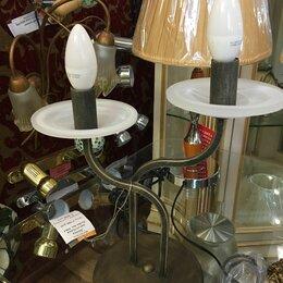 Настольные лампы и светильники - Лампа настольная кованая, 0