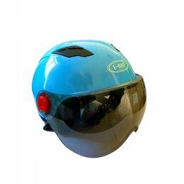 Спортивная защита - Шлем универсальный E-bike Helmet (голубой), 0