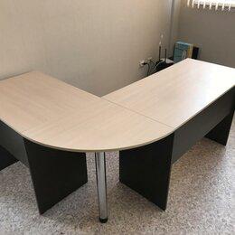 Мебель для учреждений - Новый Стол угловой офисный большой, 0