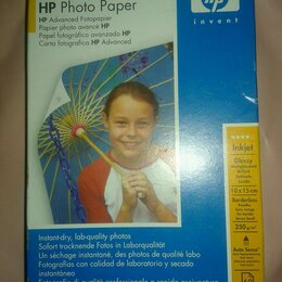 Бумага и пленка - Фотобумага HP, 0