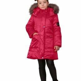 """Пальто - Пальто зимнее для девочки """"Грация"""", цвет малиновый, арт. 05104-3, размер 38-146, 0"""