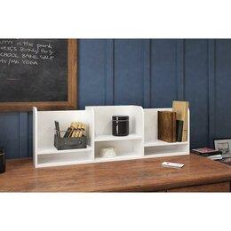 Органайзеры и кофры - Подставка органайзер настольный Лео 5, 1000х180х280, Белый, 0