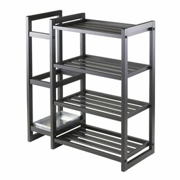 Стеллажи и этажерки - Стеллаж пластиковый низкий, 0