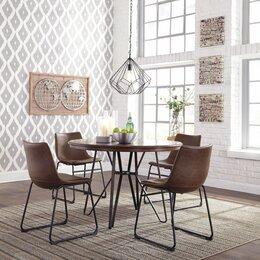 Столы и столики - Стол обеденный круглый CENTIAR D372-15 (120*75), 0