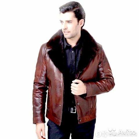 Куртка кожзам мужская зимняя по цене 5000₽ - Пальто, фото 0