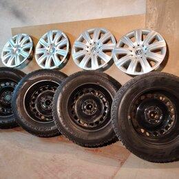 Шины, диски и комплектующие - зимние колёса на Volkswagen Tiguan  R16, 0