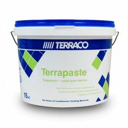 Строительные смеси и сыпучие материалы - Мастика «TERRAPASTE» 15кг  готовый клей для плитки Корея, 0