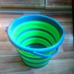 Ведра и тазы - Ведро складное,силиконовое 10 литров, 0