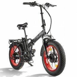 Мото- и электротранспорт - Электровелосипед volteco bad dual new, 0