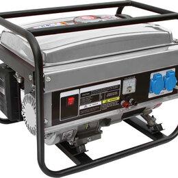 Электрогенераторы и станции - Генератор бензиновый Reotech 2.5 кВт, 0