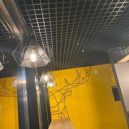 Потолки и комплектующие - Подвесной потолок Грильято, 0