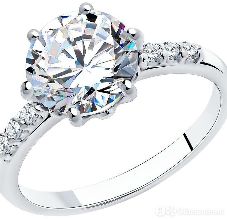 Помолвочное кольцо SOKOLOV 89010012_s_18 по цене 1330₽ - Кольца и перстни, фото 0