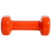 Гантель виниловая Core DB-101, 2 кг, оранжевый, Starfit по цене 739₽ - Защита и экипировка, фото 2