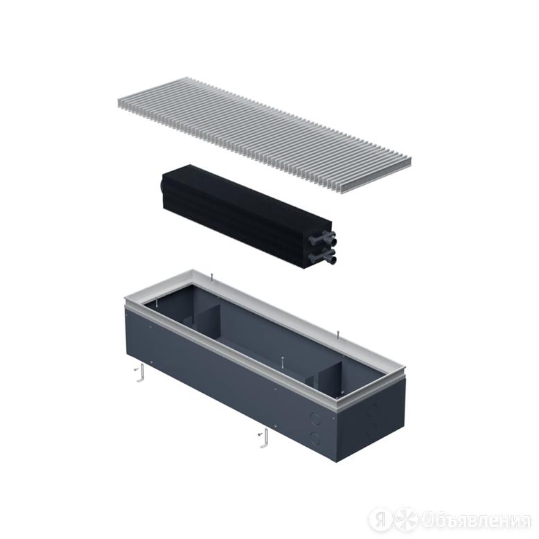 Встраиваемый конвектор Helios Alpha Double 410x130x2800 по цене 118240₽ - Встраиваемые конвекторы и решетки, фото 0
