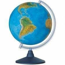 Глобусы - Глобус физико-политический «EIite» 20см с подсветкой на круглой подставке 0320EL, 0