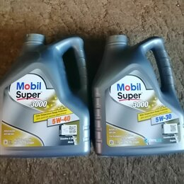 Масла, технические жидкости и химия - Моторное масло MOBIL, 0