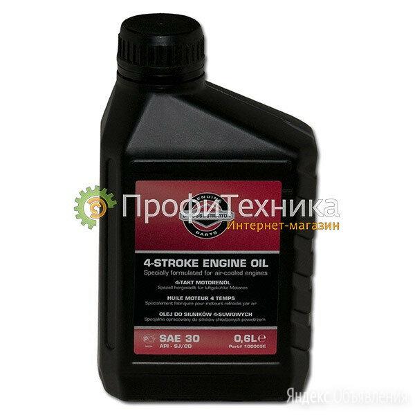 Масло для 4-х тактных двигателей B&S SAE30 0.6 л. 100005E-U по цене 450₽ - Масла, технические жидкости и химия, фото 0