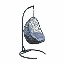 Подвесные кресла - Подвесное кресло LESET САОНА чёрное, 0