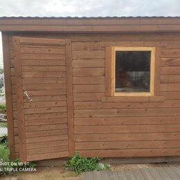 Готовые строения - Бытовка деревянная 3 х 2.3 м, 0