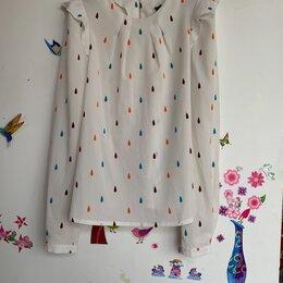 Блузки и кофточки - Рубашка с веселым принтом женская, 0