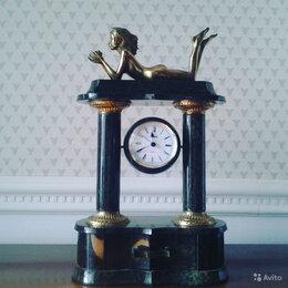 Часы настольные и каминные - Часы каминные змеевик, 0