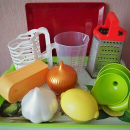 Аксессуары для готовки - Комплект 17 предметов кухонных принадлежностей, 0