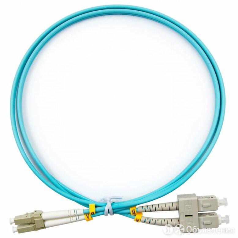 Дуплексный оптический патч-корд TopLan DPC-TOP-OM3-LC/P-SC/P-50 по цене 3030₽ - Кабели и разъемы, фото 0