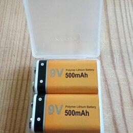 Аккумуляторные батареи - Литиевый аккумулятор 9 вольт Крона, 0