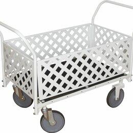 Оборудование для транспортировки - Грузовая тележка со съёмными ограждениями, 0