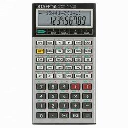 Калькуляторы - Двухстрочный инженерный калькулятор Staff STF-169, 0