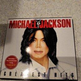 Музыкальные CD и аудиокассеты - Michael jackson greatest hits, 0