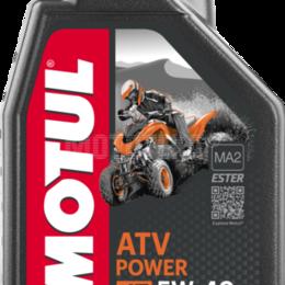 Масла, технические жидкости и химия - Масло моторное MOTUL (Мотюль) ATV POWER 4T, SAE 5W40, 0