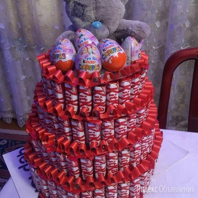 Торты из конфет по цене 1000₽ - Подарочные наборы, фото 0