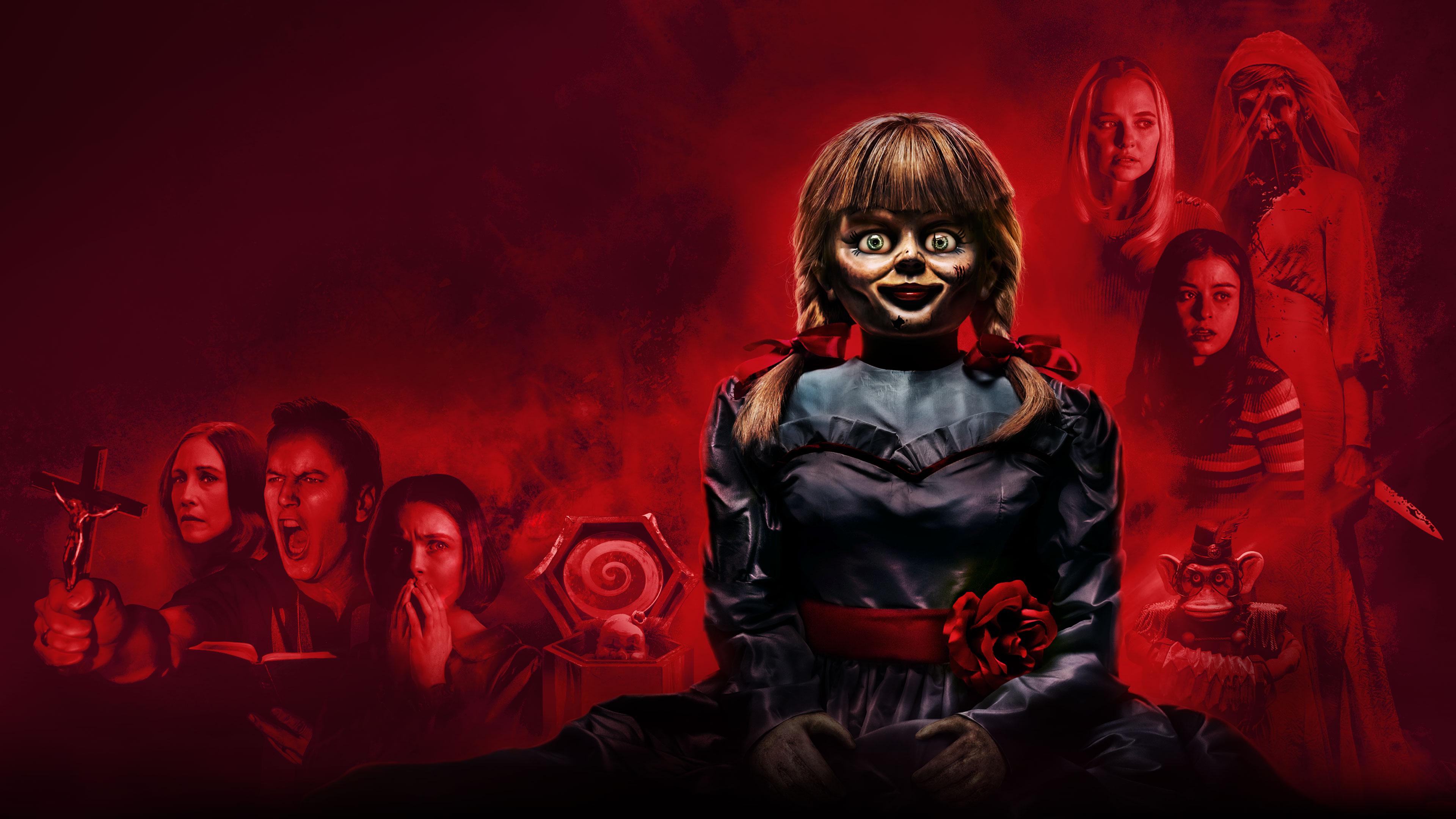 Фильм ужасов «Проклятие Аннабель» получит третью часть | 2160x3840