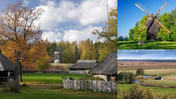 Места для посещения в Эстонии