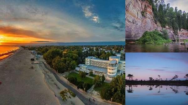 Природа Эстонии летом
