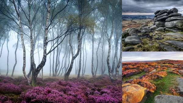 Фотопейзажи национального парка Пик-Дистрикт
