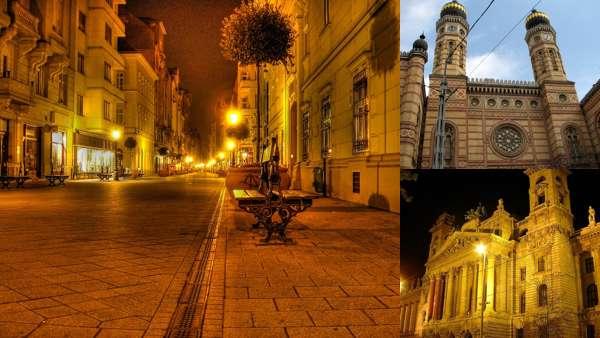 Кварталы Будапешта