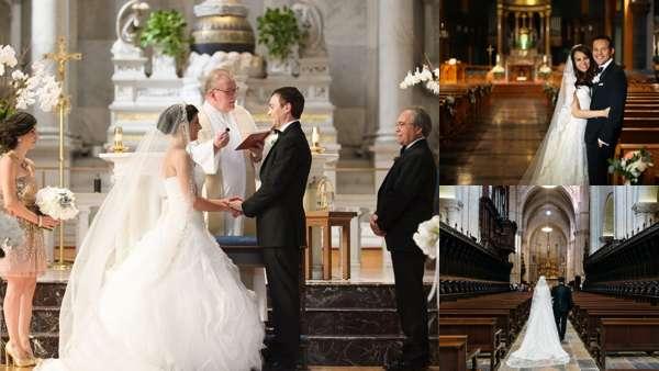 Католическое венчание.