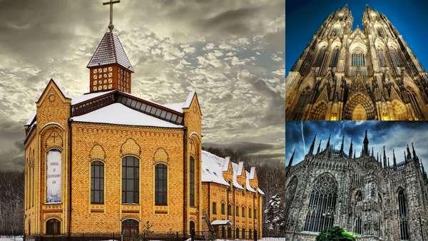 Современная готика в архитектуре