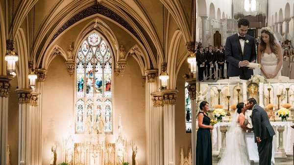 Католическое венчание