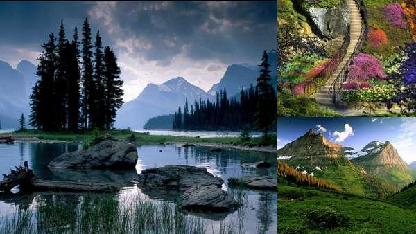 Красивые национальные парки мира