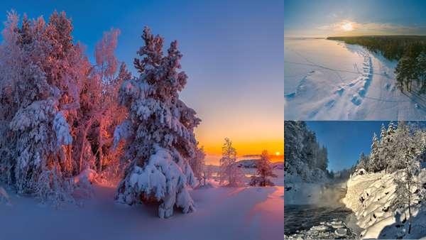 Зимние походы по Карелии