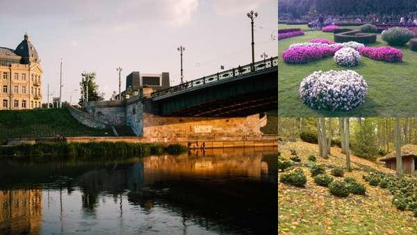 Парки, сады и скверы Вильнюса